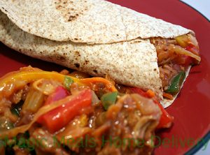 8. Barbeque Turkey & Cabbage Wrap