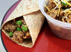 10. Beef and Bean Burrito