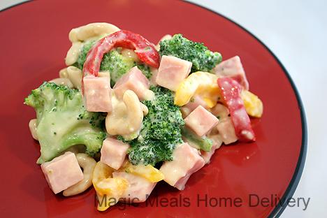 3. Ham and Broccoli Pasta