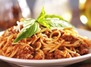 2. Spaghetti & Beef Meat Sauce