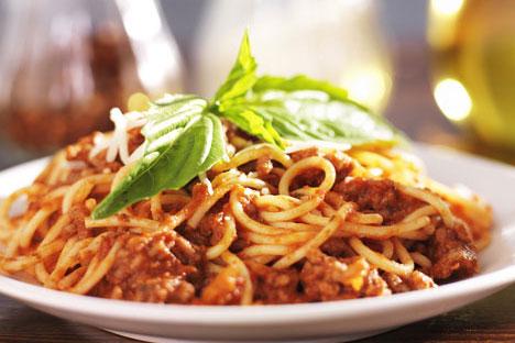 5. Spaghetti & Meat Sauce