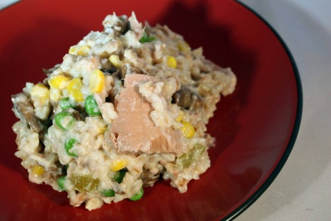 6. Southern Tuna & Rice Casserole