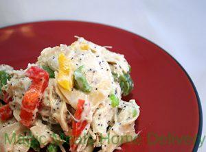 9. Turkey-Noodle Casserole