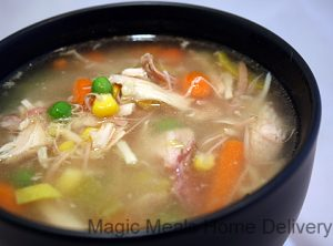9. Turkey Soup