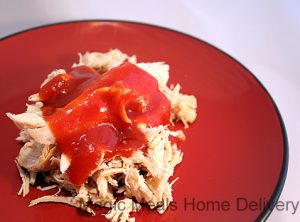 7. Barbeque Shredded Chicken