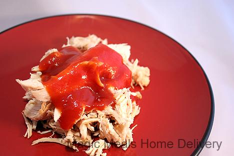 7. Barbeque Shredded Chicken