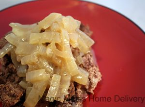 1. Onion Smothered Beef