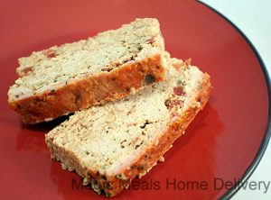 5. Turkey Vegetable Herb Loaf