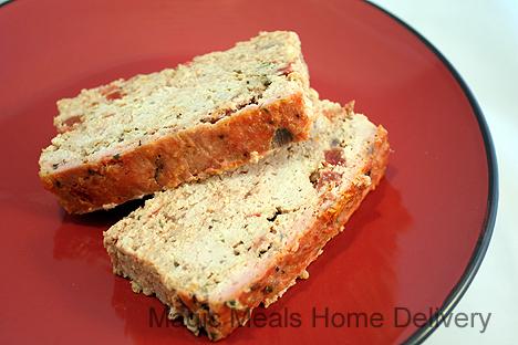 5. Turkey Vegetable Herb Loaf