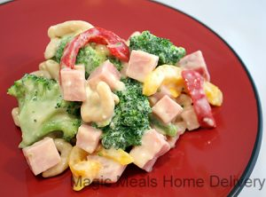3. Ham and Broccoli Pasta