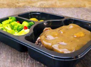 2. Salisbury Beef
