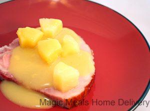 3. Ham Steak with Pineapple