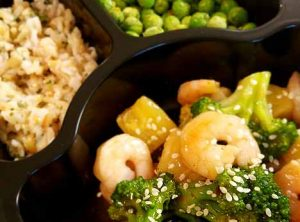 6.Teriyaki Shrimp and Vegetables