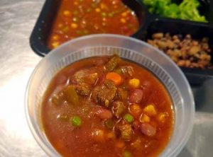 2.Vegetable Beef Soup