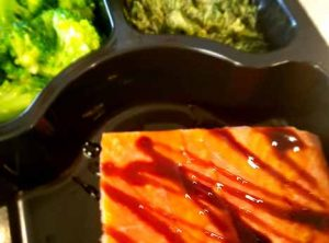 9.Balsamic Glazed Wild Sockeye Salmon