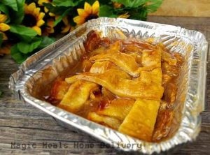 13.  Dessert – Apple Cobbler